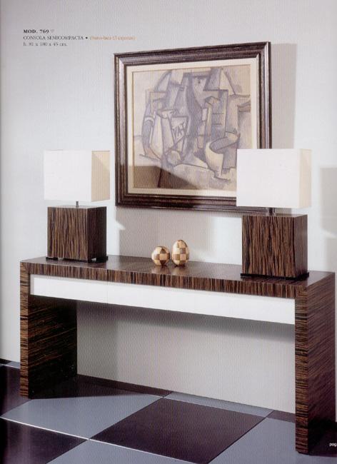 Series de muebles for Muebles de ebano